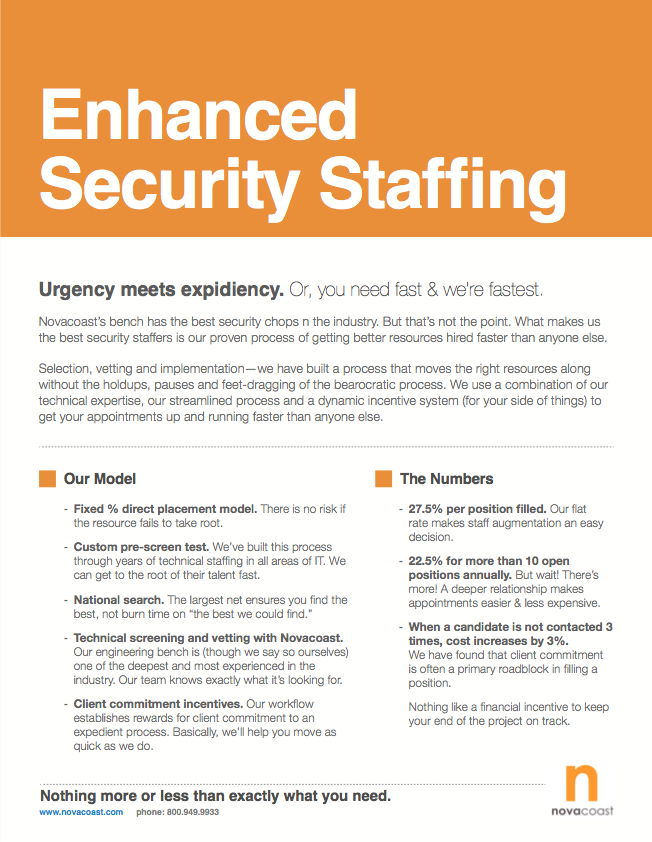 Enhanced Security Staffing